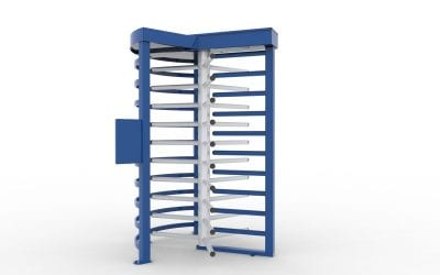 D4200 Full Height Turnstile (Enhanced)