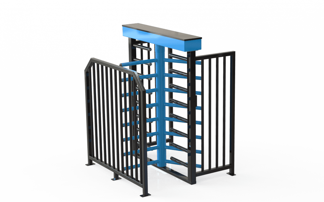 D4350 3/4 Height Turnstile